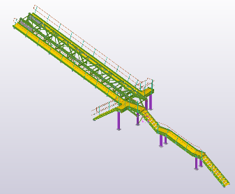 Conveyor Gantry and Access – 8.6 Tonnes