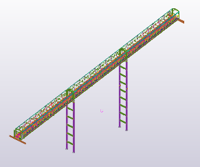 Elevated Conveyor Gantry and Trestles – 82.4 Tonnes